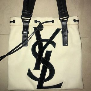 YSL Saint Laurent Kahala Tote Authentic EUC